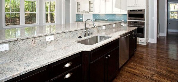 kashmir white kitchen countertop