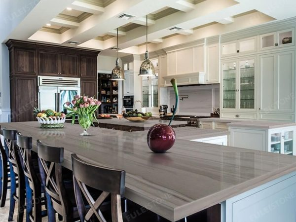 Athenswood Grey Marble Countertop