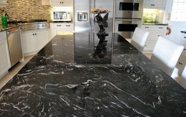 Black Forest Granite Kitchen