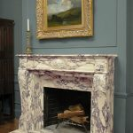 Calacata Fireplace